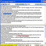 Imagen de Free Languaje Translator 1.9.4