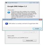 Imagen de Google DNS Helper 1.2