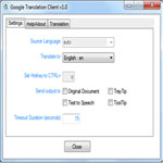 Imagen de Google Translation Client 1.1