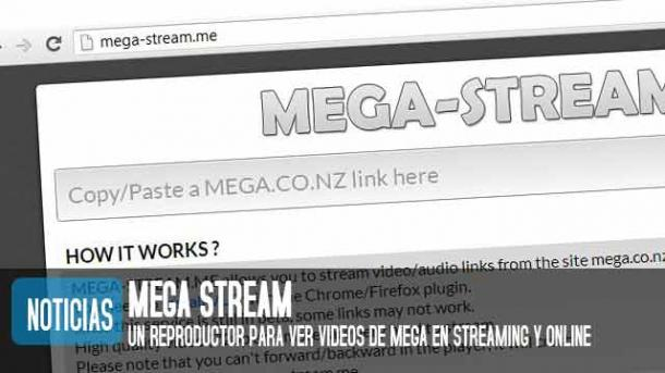 Mega Stream me, el nuevo megavideo permite ver videos de